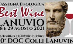 Lanuvio Best Wine 28-29 / Agosto 2021